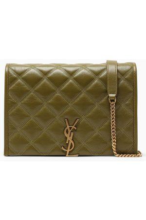 Saint Laurent Olive small Becky shoulder bag