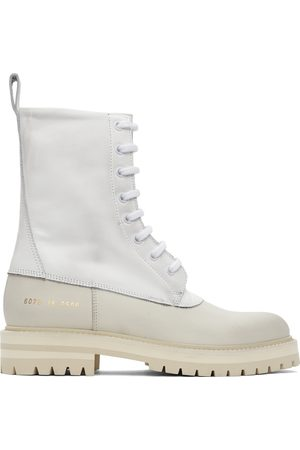 COMMON PROJECTS Women Boots - White Technical Boots