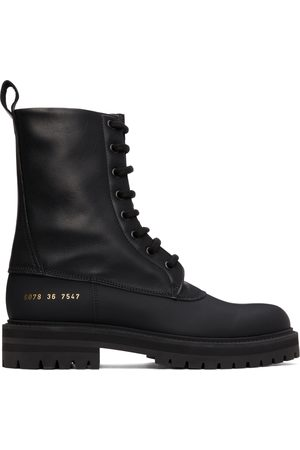 COMMON PROJECTS Women Boots - Black Technical Boots