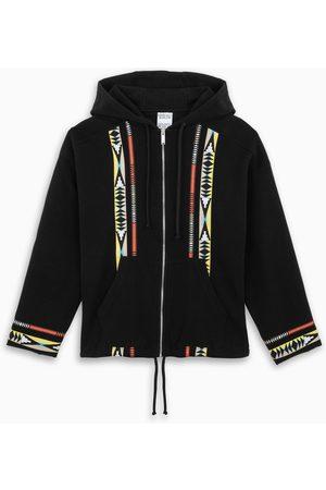MARCELO BURLON Men Hoodies - Ethnic-graphic-pattern hoodie
