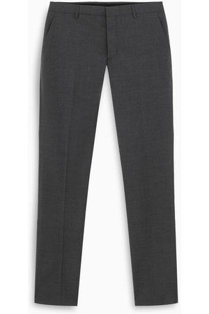 Prada Ardesia wool slim trousers
