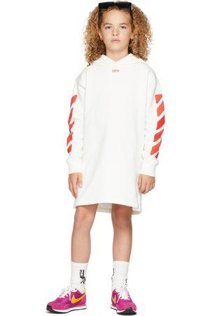 OFF-WHITE Girls Hoodies - Kids Stamp Logo Hoodie Dress