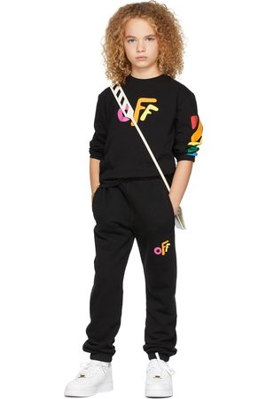 OFF-WHITE Pants - Kids Rounded Off Lounge Pants