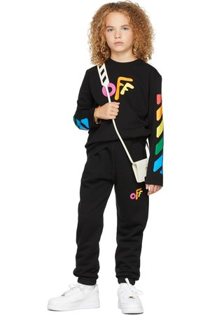 OFF-WHITE Long Sleeve - Kids Rounded 'Off' Long Sleeve T-Shirt