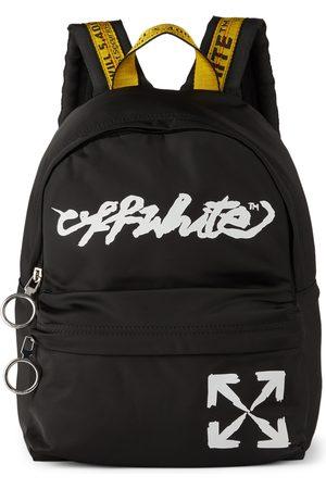 OFF-WHITE Kids Script Logo Backpack