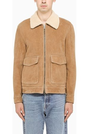 SALVATORE SANTORO Men Leather Jackets - Suede leather Mer jacket