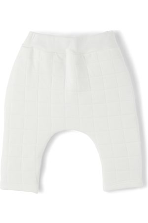 Petit Bateau Pants - Baby Organic Cotton Quilted Trousers
