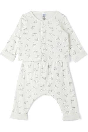 Petit Bateau Sets - Baby Organic Cotton Marmot Pattern Set