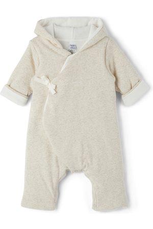 Petit Bateau Jumpsuits - Baby Organic Cotton Hooded Jumpsuit