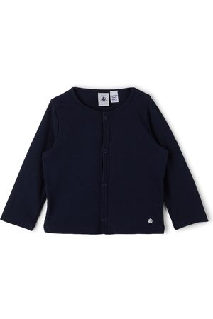Petit Bateau Cardigans - Baby Cotton Jersey Snap Cardigan