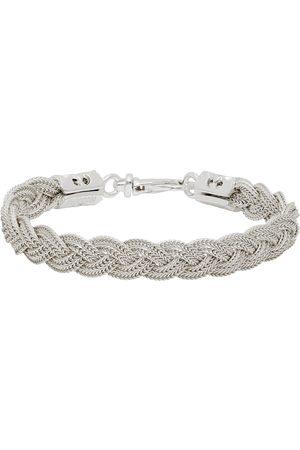 EMANUELE BICOCCHI Men Bracelets - Ice Flat Braided Bracelet