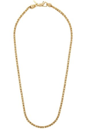 EMANUELE BICOCCHI Men Necklaces - SSENSE Exclusive Gold Byzantine Chain Necklace
