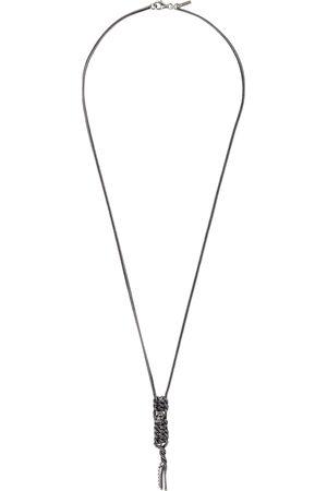 EMANUELE BICOCCHI Small Skull Twist Necklace