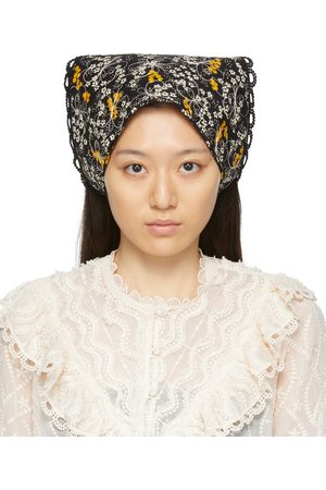 Anna Sui Quilted Head Scarf
