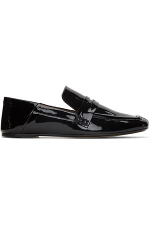 Joseph Women Loafers - Black Patent Vernice Loafers