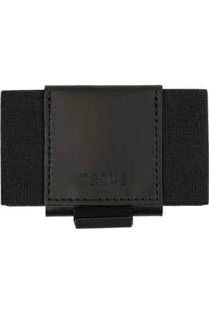 Men's Artisanal Black Leather Swift Wallet TROVE