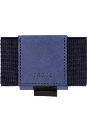 Men's Artisanal Navy Leather Swift Wallet TROVE