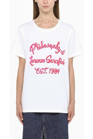 Philosophy Fuchsia logo-print t-shirt