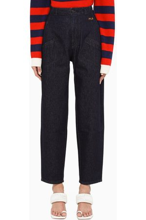 Philosophy Dark tapered trousers
