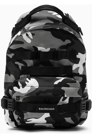 Balenciaga Camou print Army backpack