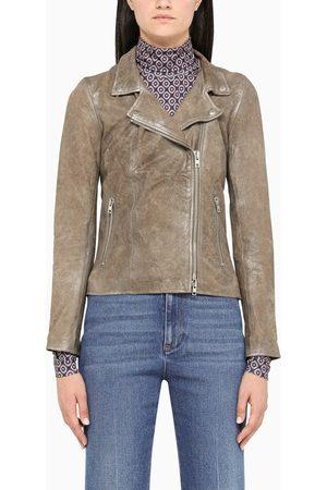 SWD by S.w.o.r.d. Leather biker jacket