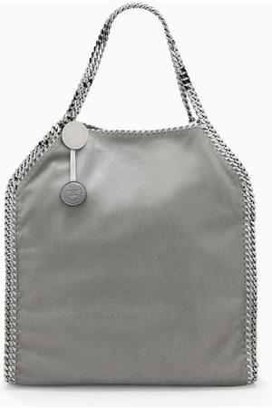Stella McCartney Light grey Falabella large tote bag