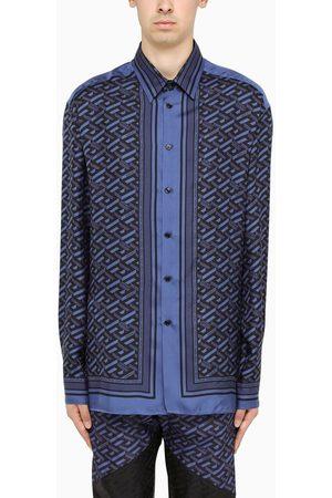 VERSACE Black and long sleeves shirt