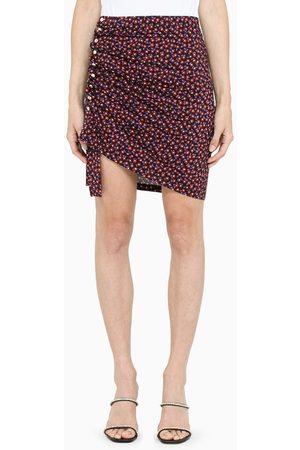 Paco Rabanne Floral-print mini skirt