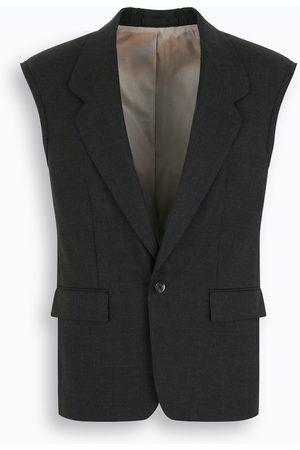 FEAR OF GOD Charcoal wool waistcoat