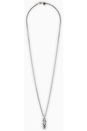 Alexander McQueen Brass pendant necklace