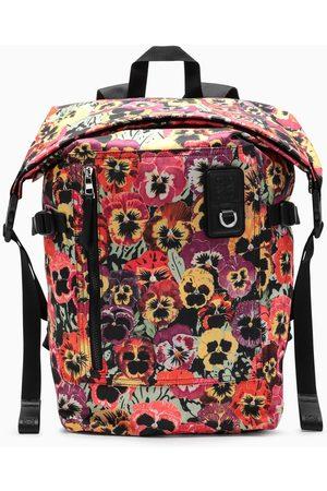 Loewe Multicolour floral-print backpack