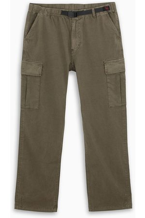 Gramicci Dark belted cargo trousers