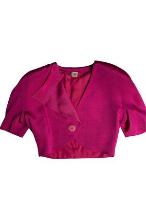 KRIZIA Women Gilets - Silk short vest