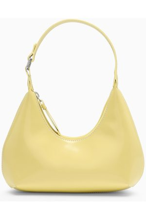 By Far Cron shiny leather baby Amber bag