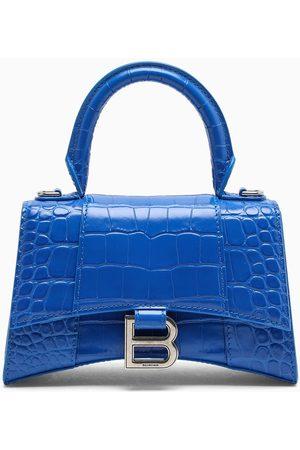 Balenciaga Coco-print leather Hourglass XS bag