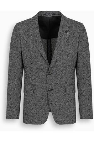 TAGLIATORE Bouclé single-breasted blazer