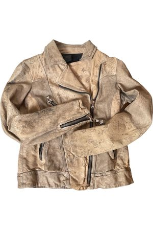 Happiness Women Leather Jackets - Leather biker jacket