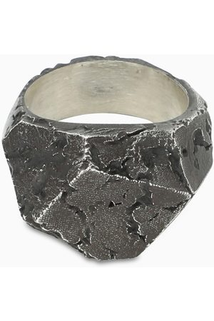 NOVE25 Polygonal Materic chevalier ring