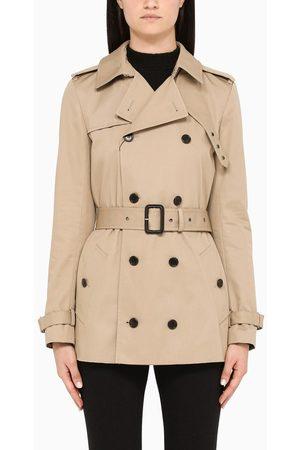 Saint Laurent Women Trench Coats - Short trench coat