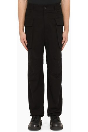 Salvatore Ferragamo Men Wide Leg Pants - Wide-leg trousers