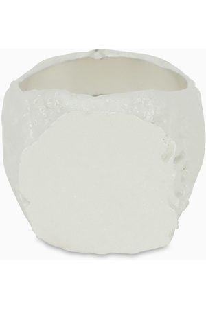 NOVE25 Men Rings - White Materic chevalier ring