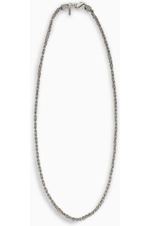EMANUELE BICOCCHI Sterling silver 925 woven necklace