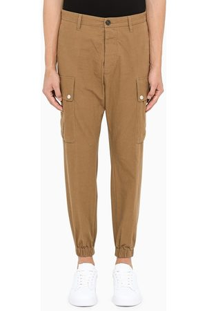 Dsquared2 Camel cargo trousers