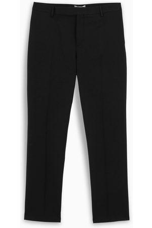 Saint Laurent Men Formal Pants - Gabardine tailored trousers