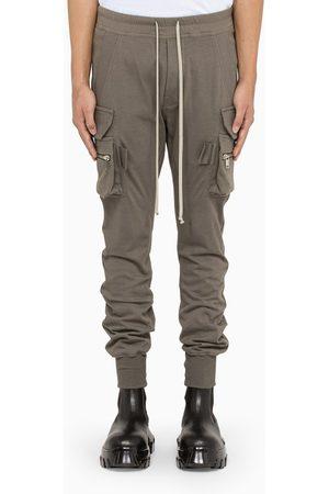 Rick Owens Men Cargo Pants - Black mastodon cargo trousers