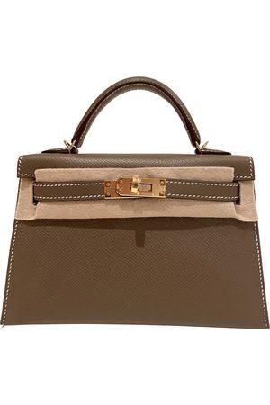Hermès Women Purses - Kelly Mini leather handbag
