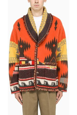 Alanui Men Cardigans - Multicolour Over The Andes cardigan