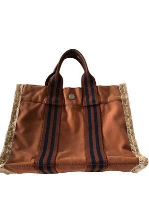 Hermès Toto cloth handbag
