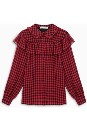 Philosophy Red and black checked shirt
