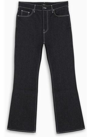 AMIRI Raw indigo flared jeans
